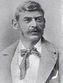 Румынский шахматист Адольф Альбин в 1895 году