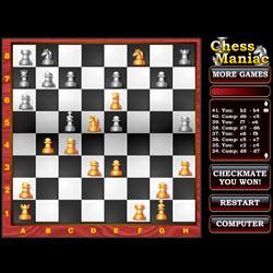 Онлайн-шахматы для начинающих ChessManiac