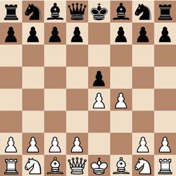 Королевский гамбит - белые жертвуют пешку f4