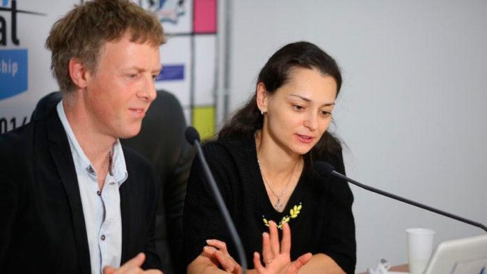Павел Трегубов (второй муж) и Александра Костенюк
