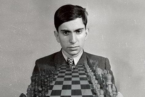 Шахматист Михаил Таль в юности