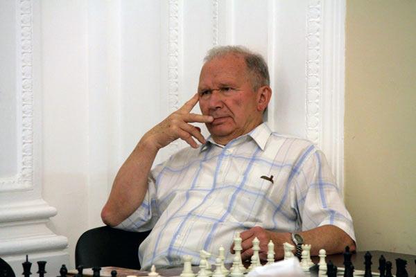 Заслуженный тренер СССР, сеньор-тренер ФИДЕ, международный мастер Александр Сергеевич Никитин