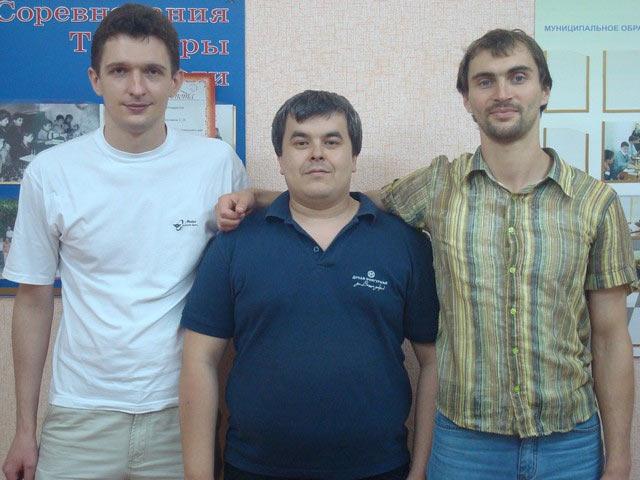 На фото слева на право: Яр Саныч, Салим Фазульянов, Борис Савченко
