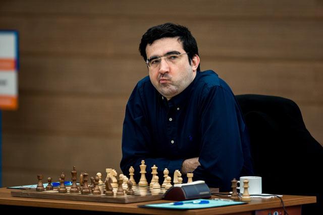 Четырнадцатый чемпион мира по шахматам Владимир Крамник