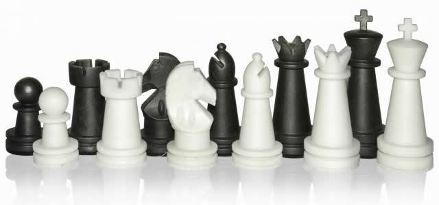 Шахматные фигуры из набора