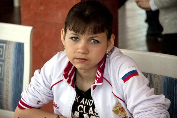 """Победитель женского турнира """"Чита 2015"""" Александра Горячкина"""