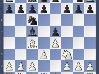 Тишайшая итальянка 1. e4 e5 2. Nf3 Nc6 3. Bc4 Bc5 4. d3