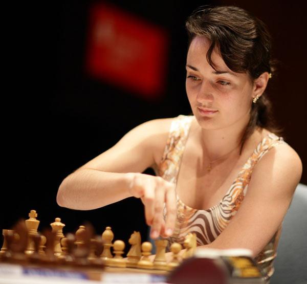 Жена шахматиста Александра Грищука Екатерина Лагно