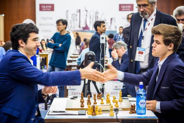 Катар Опен 2015 - Крамник и Карлсен
