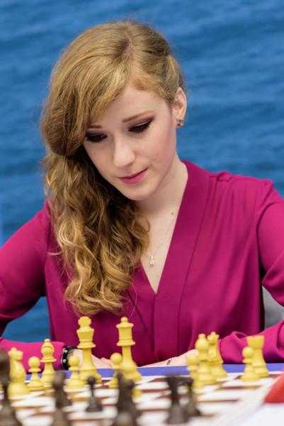 Анна Рудольф (Anna Rudolf) - международный мастер по шахматам из Венгрии
