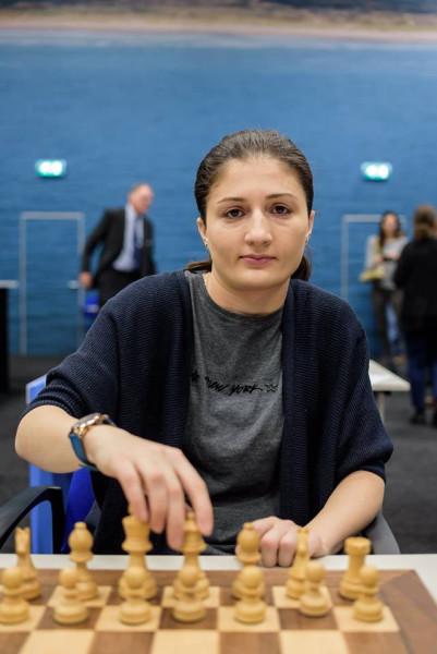 Нино Бациашвили - шахматистка из Грузии