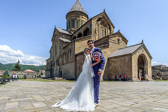 Свадьба Аниша Гири и Софико Гурамишвили