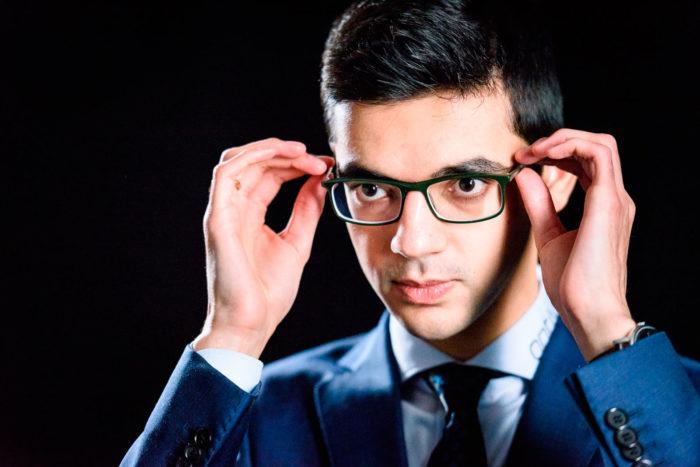 Шахматист Аниш Гири