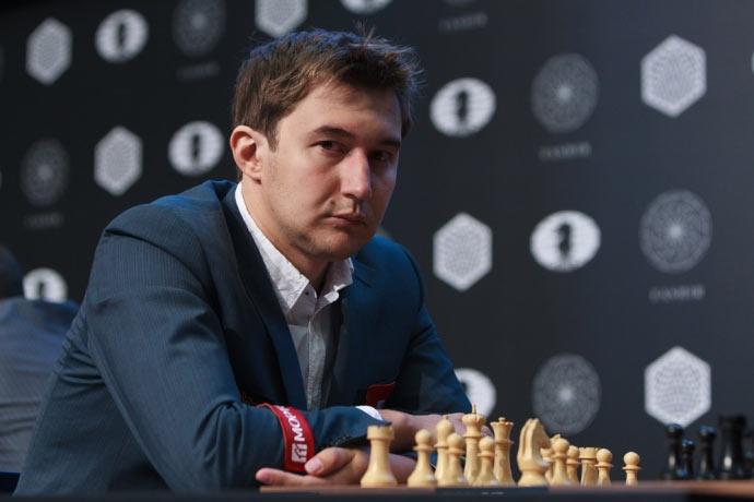 Сергей Карякин - претендент на шахматную корону. Родился 12 января 1990 года (26 лет). Рейтинг на момент начала матча: 2760 (№9 в мире)