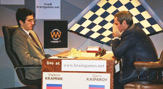 Последняя интрига XX века - матч за звание чемпиона мира по шахматам между Владимиром Крамником и Гарри Каспаровым (Лондон, 2000 г.)