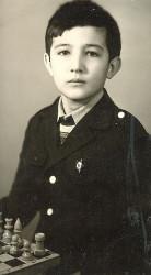 Владимир Крамник в детстве (фото из семейного архива)
