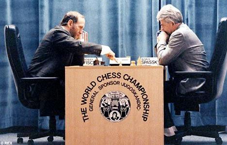 Бобби Фишер и Борис Спаский, Югославия, 1992 год