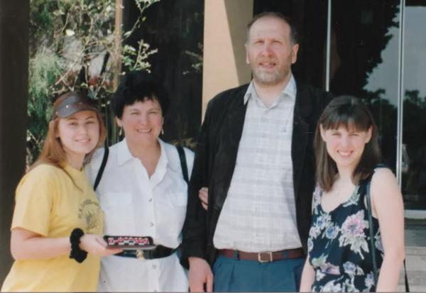 Юдит Полгар, её мать Клара, Бобби Фишер и София Полгар