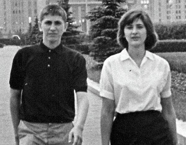 Бобби Фишер с сестрой Джоан