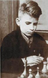 Борис Спасский в детстве