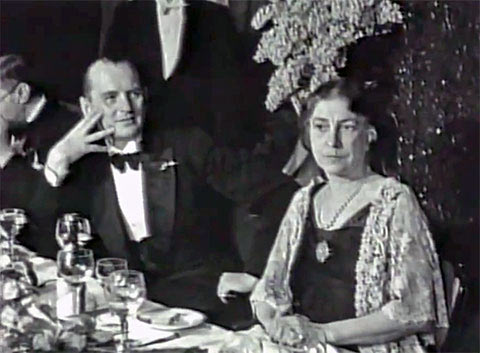 Александр Алехин с последней женой Грейс Висхар (Амстердам, 1935)