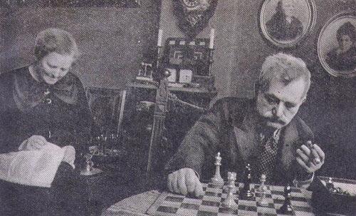 Ласкер с женой Мартой