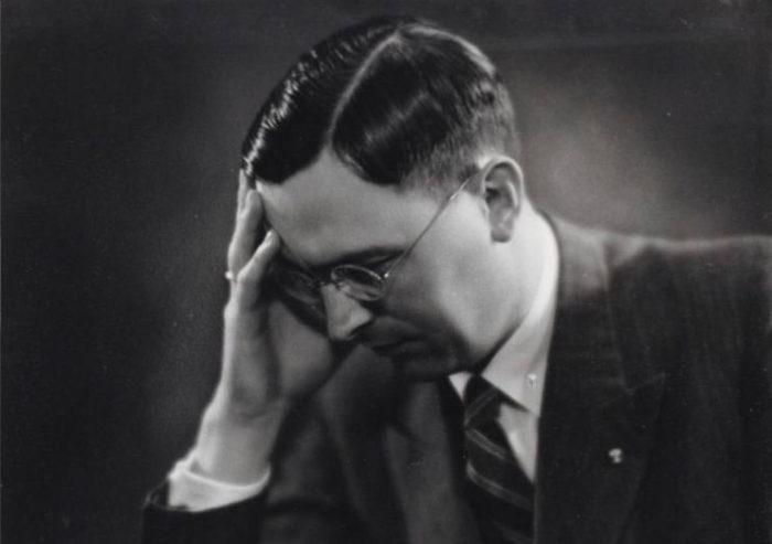 Шахматист Мак Эйве (Machgielis Euwe)