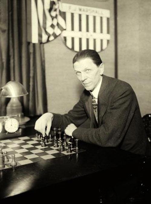 Шахматист Геза Мороци