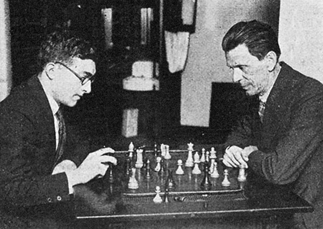 Карлос Торре и Геза Мароци (Чикаго, 1926)
