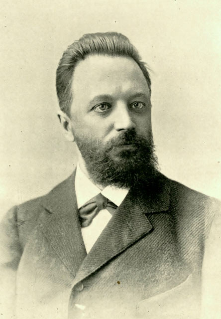 Русский шахматист Михаил Иванович Чигорин