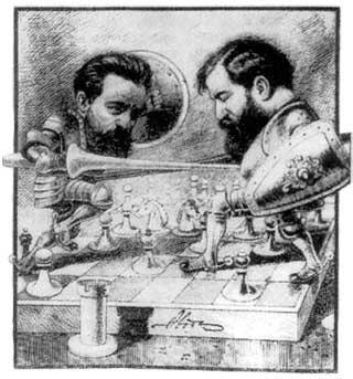 Картинка посвященная матчу Чигорин - Стейниц 1892 года