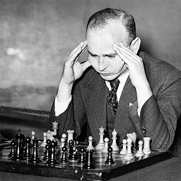 Шахматист из США Самуэль Решевский