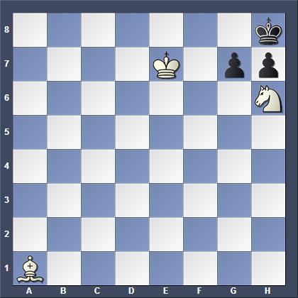 3-х летний шахматист Миша Осипов смог решить этот этюд
