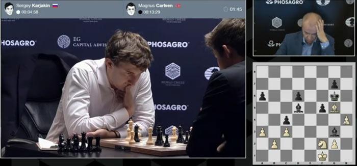 После 37.h4 позиция белых стала весьма плачевной