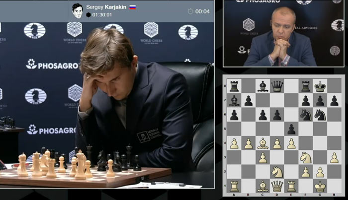 Лучший ход за черных 12... d5