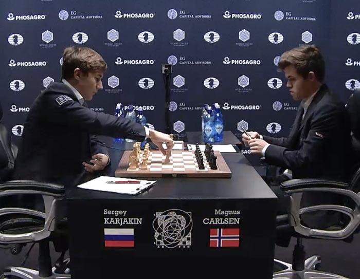 Карлсен - Карякин 2016. Партия 9