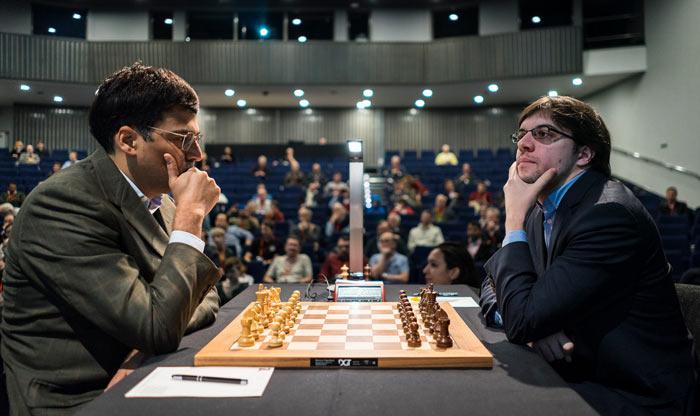 London Chess Classic 2016 Виши Ананд (Индия) и Максим Вашье-Лаграв