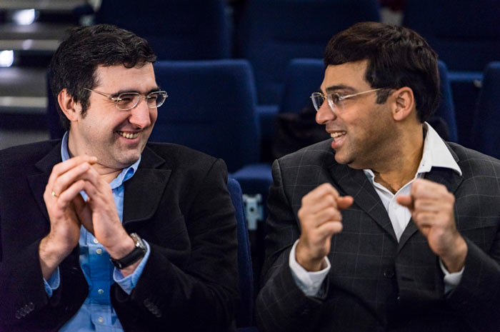Турнир по шахматам в Лондоне 2016. Крамник и Ананд