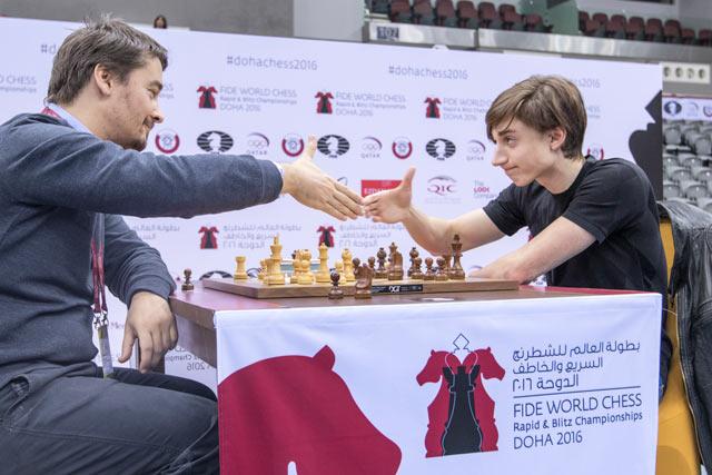 Александр Морозевич и Даниил Дубов