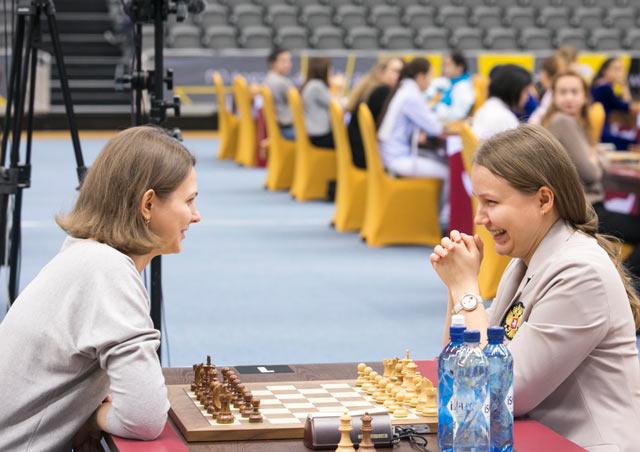 Анна Музычук чемпионка мира по рапиду Доха 2016 (Катар)