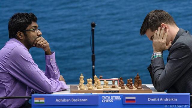 Адхибан Баскаран и Дмитрий Андрейкин