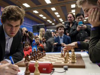 Магнус Карлсен и Ричард Раппорт (Вейк-ан-Зее, 2017)