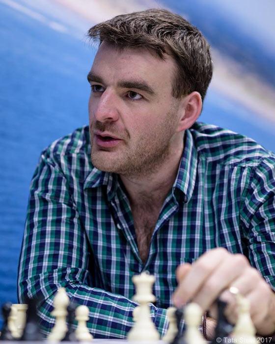 Английский шахматист Гавейн Джонс (Gawain Jones)