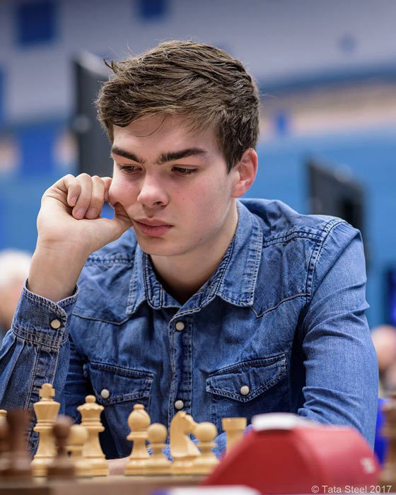 Йорден ван Форест (Нидерланды) - участник турнира Tata Steel Challengers (турнир претендентов)