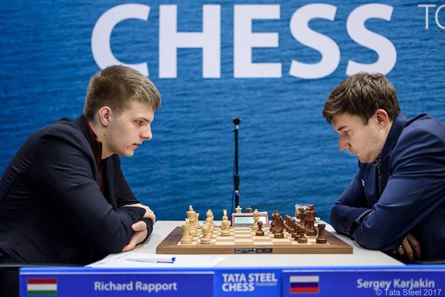 Ричард Раппорт и Сергей Карякин