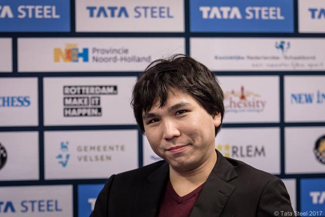 Победитель турнира Tata Steel Chess 2017 Уэсли Со (США)