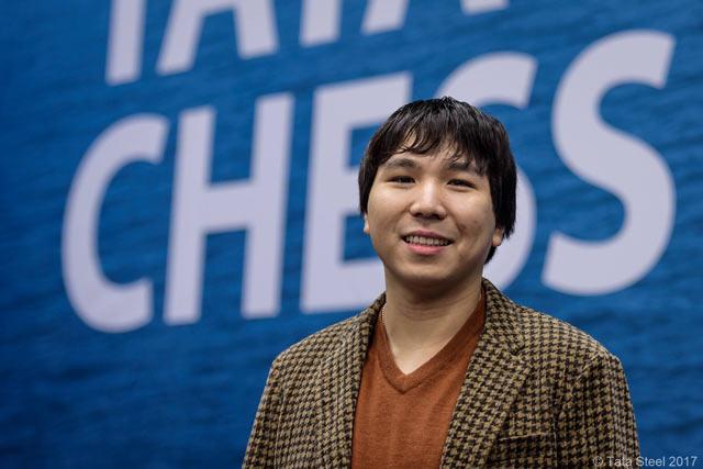 Лидер турнира Tata Steel Chess 2017 Уэсли Со (США)