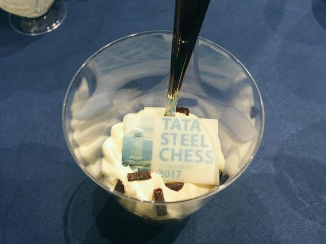 Десерт с символикой турнира