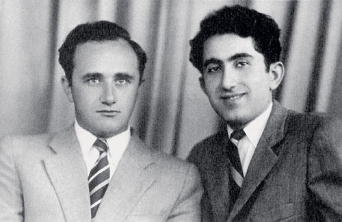 Ефим Геллер и Тигран Петросян - претенденты на шахматную корону