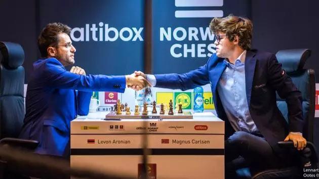 Аронян выиграл у Карлсена в 4-ом туре Norway Chess 2017 (Ставангер, Норвегия)